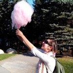 В моя розов балон